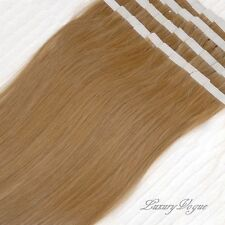40pcs 100% Human Hair 3M Tape-in Extensions Remy #10 (Med-Light Brown) Lux_Vogue