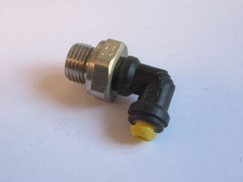 "4mm od x 1//4/"" bspp mâle goujon pivotant elbow kelm pneumatique push-in fitting #9A162"