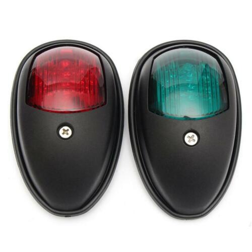 2er Set Positionsleuchte Navigationslicht LED Steuerbord und Port