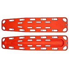 Emergency Spinal Immobilization Board Medical EMS Backboard w/ Speed Clip Orange