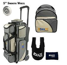 de058d6ad7 item 3 KAZE SPORTS 3 Ball Bowling Roller Smooth Wheel + Add-On Spare Tote  Bag Seesaw 4 -KAZE SPORTS 3 Ball Bowling Roller Smooth Wheel + Add-On Spare  Tote ...