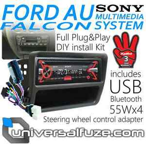Ford-AU-Falcon-Sony-55Wx4-Bluetooth-USB-Upgrade-Kit