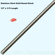 Stainless Steel Solid Round Stock 12 X 3 Ft Length 303 Unpolished Rod