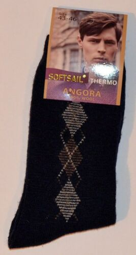 Mens Winter 95/% ANGORA Warm Socks High Quality