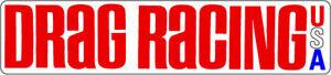 Drag-Racing-USA-Magazine-Vintage-Hot-Rat-Rod-Decal-Sticker-NHRA