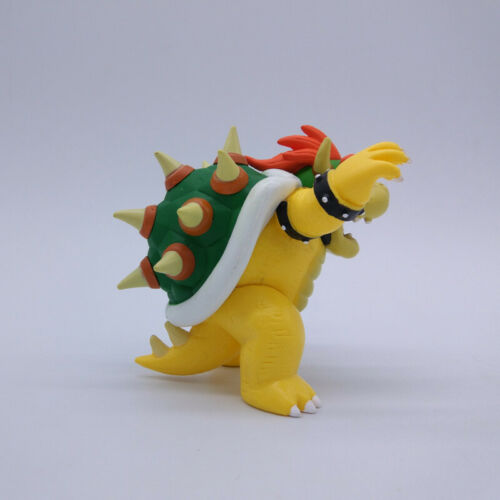 New Super Mario Bowser Koopa Figure Cartoon Toy Doll Collect Home Decor Gift 9CM