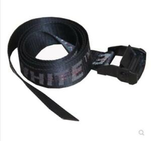 86a9a0beeee9 2019 Off White Tie Down Yellow Nylon Cotton Big IRON Head Industrial ...