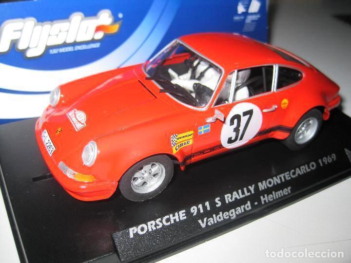 Flyslot REF. 036107 Porsche 911 S Rally Monte Carlo 1969 New New