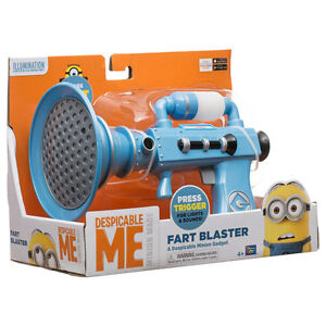 Despicable Me Fart Blaster Minions Toys Games Action Figures Kids Unisex NEW
