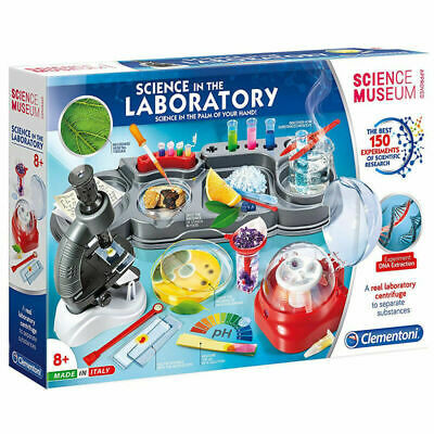 61756-Neuf 24 H Gratuit D Clementoni Science Musée Science dans le laboratoire Kit