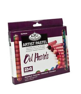 24 Qualità Pigmento Colore Olio Pastelli Set Artisti Disegno E Disegno OILPA-524