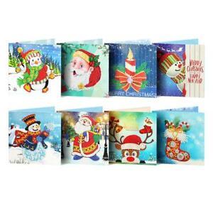 8pc-5D-DIY-Diamond-Painting-Greeting-Card-Special-Shaped-Birthday-Xmas-Gift-R1BO