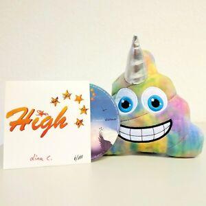 High-Five-CD-signiert-Fanset-3-inkl-Regenbogeneinhornkackie