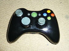 MICROSOFT XBOX 360 OFFICIAL WIRELESS CONTROLLER Modified Glossy Black Game Pad