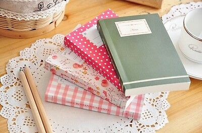 Fresh Multi-use paper Diary Notepad Pocket Note Book BN