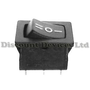 5x-SPDT-Rocker-Switch-1-Circuits-13x19mm-on-off-on-I-O-II