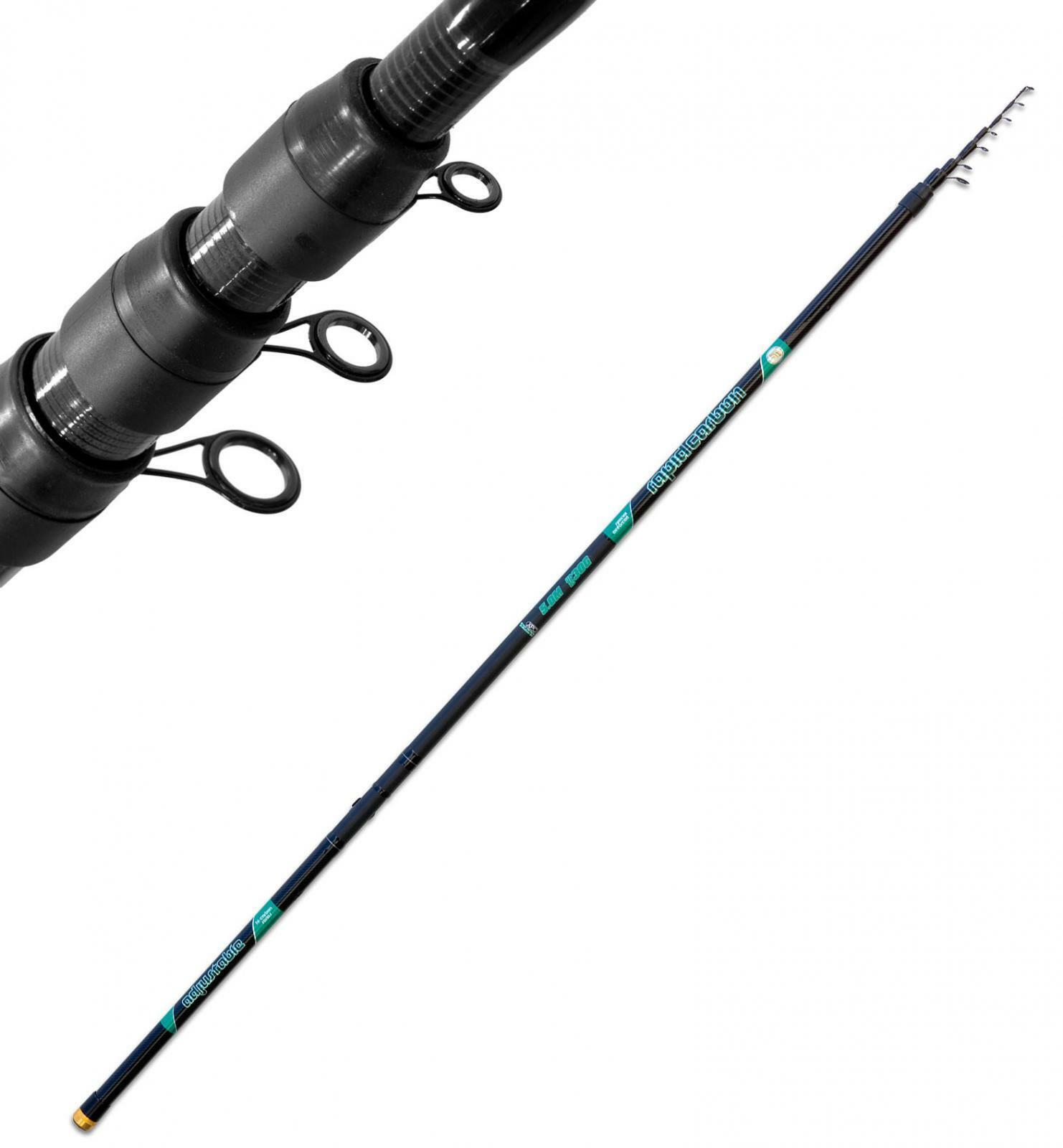 2605070 Canna pesca  Teleregolabile Cochebonio 7 mt Trojoa torrente anelli Sic FEU  tienda de bajo costo