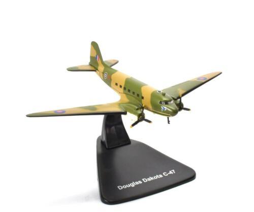 Douglas Dakota C-47 1:144 Atlas WW2 Flugzeug MODEL AIRCRAFT PLANE B114