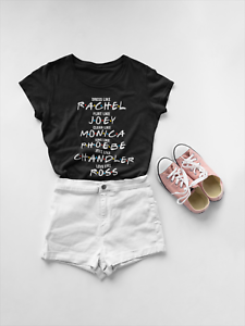 Gli-amici-Shirt-T-shirt-da-AMICI-TRASMISSIONE-TV-Tee-Rachel-T-shirt-T-shirt-Ross