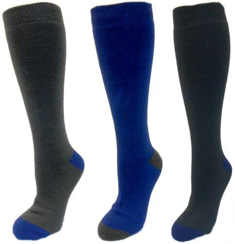 Mens 3 Pairs Storm Ridge Winter Wellie Socks