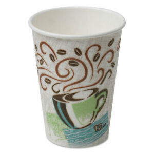 Dixie Pathways Paper Hot Cups 8oz 25// Pack 25//Pack 2338WSPK