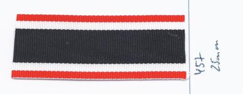457 Ordensband KVK 2.Klasse 25mm 25cm lang m12,00