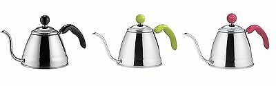Fino Pour Over Coffee and Tea Kettle Stainless Steel 3 colors New Japan