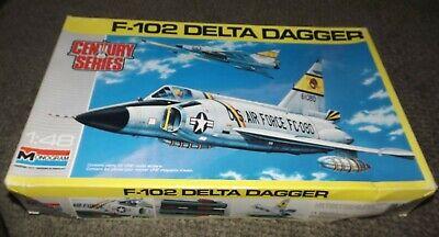 Entièrement NEUF dans sa boîte. Monogram CONVAIR F102 DELTA DAGGER 1//48th Scale Model Kit