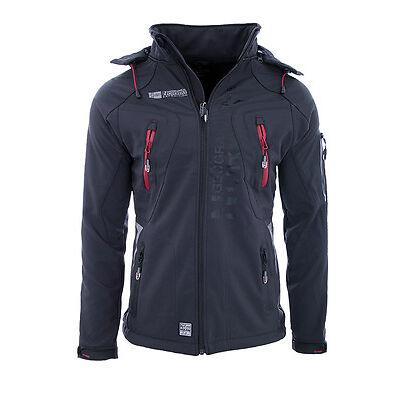 Geographical Norway Herren Softshell Jacke regen Outdoor Herbst Übergags Jacke