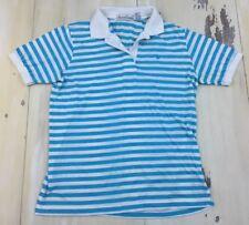 5821858baaced Gloria Vanderbilt Womens Annie Paisley Polo Shirt Large Latte Beige ...