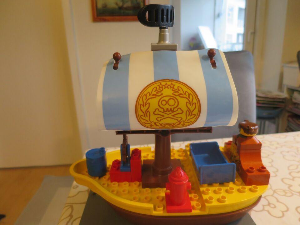 Lego Duplo, Skib,traktor,biler