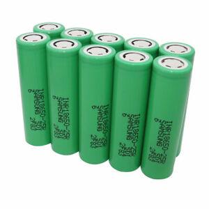 10pcs-18650-2500mAh-Batterie-3-7V-Li-ion-Recargable-High-Drain-25R-Battery-Vape