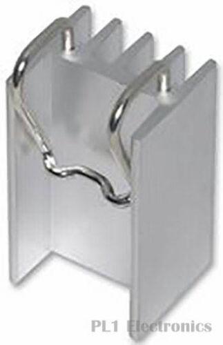 TO-220 3 OHMITE WV-T220-101E disipador de calor 13 ° C//W Square PCB 18.3x30.5x