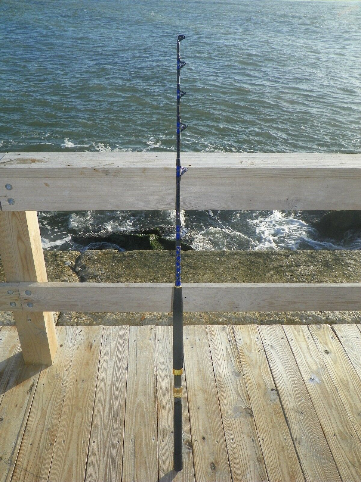 SALTWATER FISHING RODS 50-80LB FISHING FISHING POLES FISHING 50-80LB FOR PENN SHIMANO REEL 578159