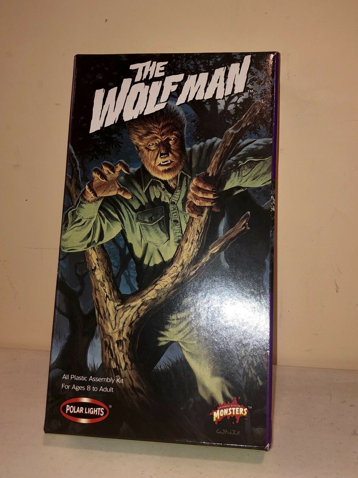 1998 THE WOLFMAN Polar Lights Model; New in opened box but bagged.