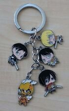Attack on Titan anime character Keychain
