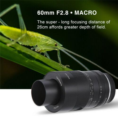 Lenses & Filters Lenses 7artisans 60mm f2.8 Macro Portrait Manual ...