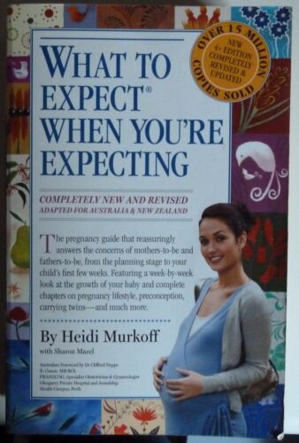 1 of 1 - What to Expect When You're Expecting by Heidi E. Murkoff, Sharon Mazel 4th Editi