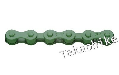 Green US SELLER New YBN Color Single Speed Bike Chain Fixed Gear Bicycle