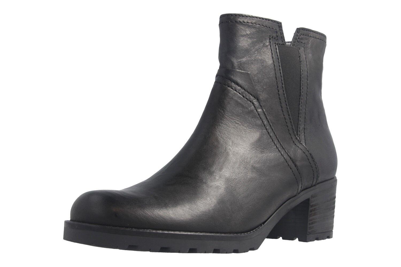Grandes zapatos con descuento GABOR - Damen Stiefeletten - Schwarz Schuhe in Übergrößen