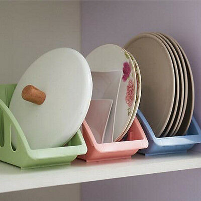 1X Single Drain Plate Kitchen Rack Holder Spoon Shelf Rack Bowl Dishes Cupboard