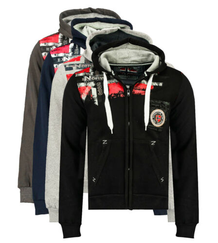 Felpa GEOGRAPHICAL NORWAY Fespote sweatshirt maglia maniche lunghe long sleeves