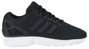 Image is loading Womens-ADIDAS-ZX-FLUX-W-Black-Running-Textile- 1e3ae739f6