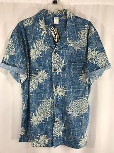 49a95f84 Image is loading Palmwave-Hawaii-Mens-Short-Sleeve-Button-Up-Hawaiian-