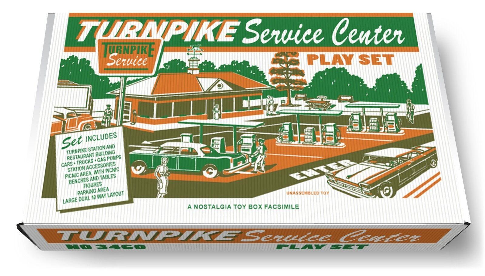 Marx schlagbaum service center spielen set - box