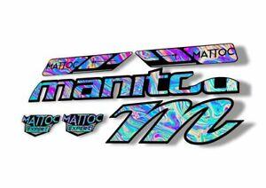 Manitou Dorado Pro Fork Suspension Graphic Decal Kit Sticker Set Adhesive Camo