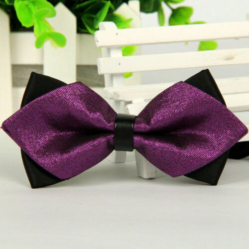Men/'s Bowtie Bow Tie Suit Necktie Adjustable Formal Tuxedo Wedding Party Ties #N