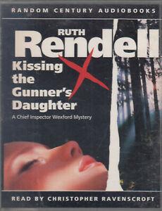 Kissing-the-Gunner-039-s-Daughter-Ruth-Rendell-2-Cassette-Audio-Book-Wexford-Crime
