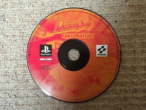 Dancing-Stage-Party-Edition-Sony-Playstation-Ps1-DVD-nur-UK-Pal
