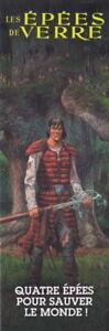 Les Épées De Verre - Marque-pages - T04 -les Humanoïdes Associés- Zuccheri Laura éConomisez 50-70%